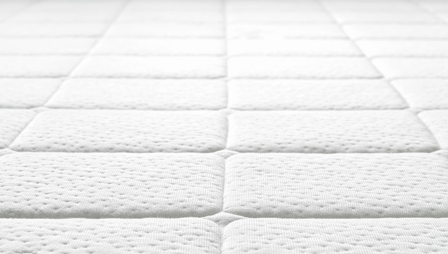 Close-up of mattress