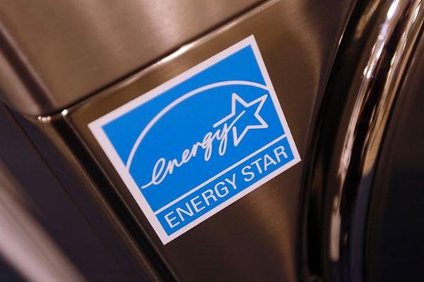 Energystar logo on an appliance