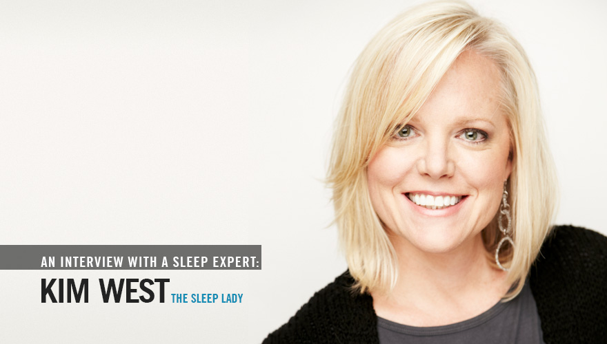 Sleep expert Kim West, the Sleep Lady