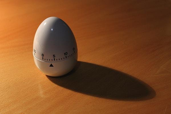 amerisleep egg timer