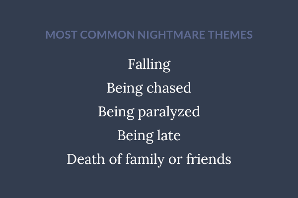 5 factors nightmares