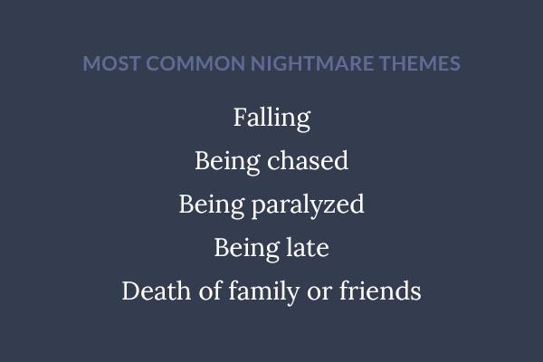 5 factors nightmares