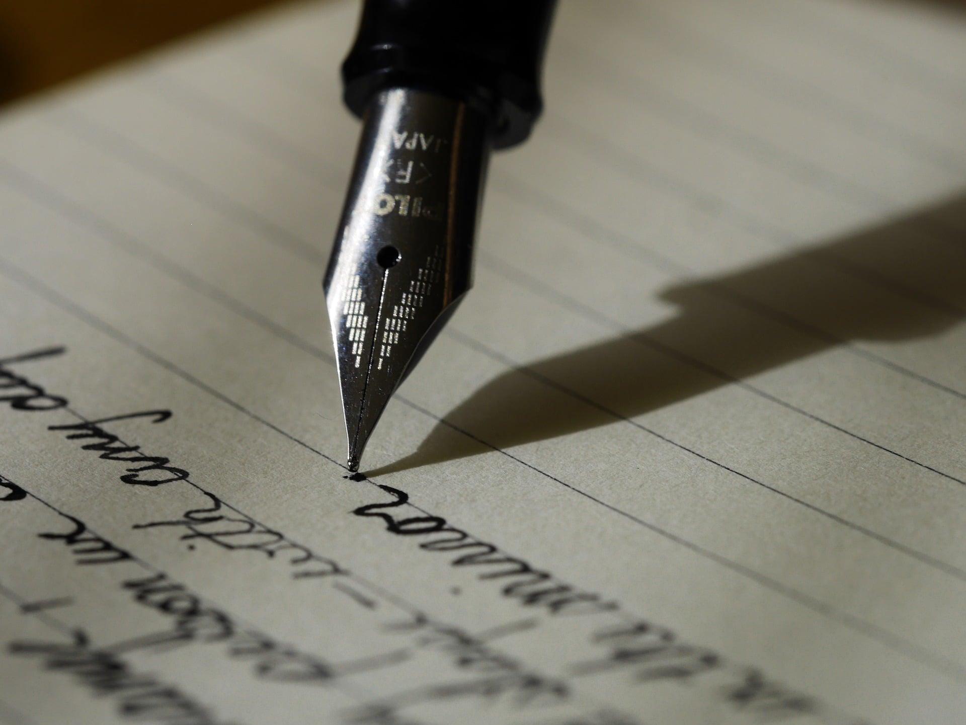 journal d'écriture