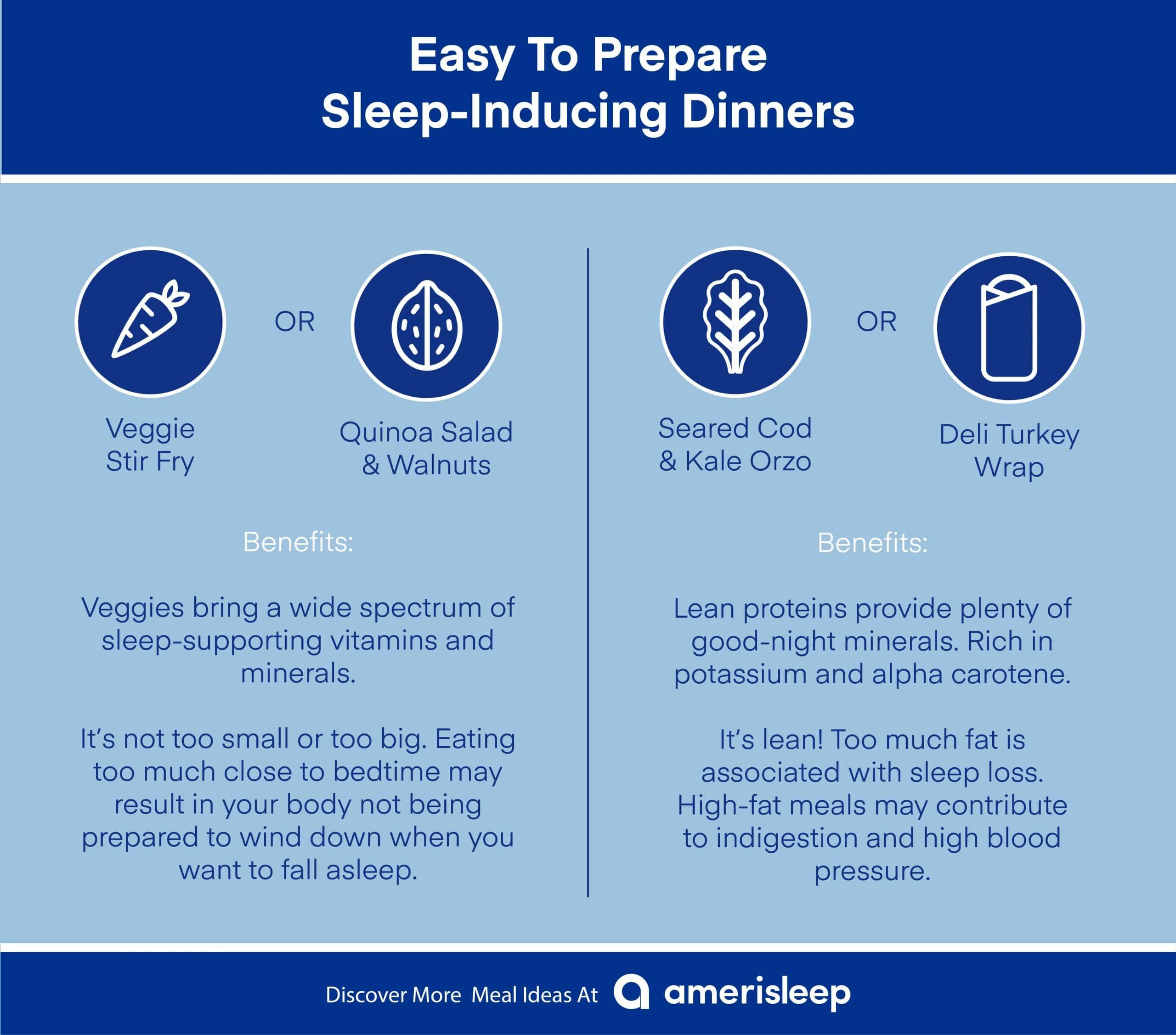 Sleep-Inducing Dinners