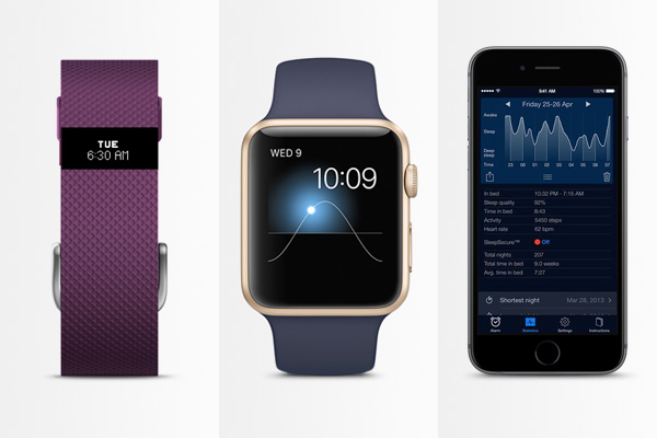 Fitness trackers: Fitbit, Apple Watch, iPhone app