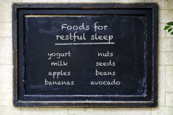 Foods for restful sleep