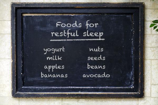 Foods for restful sleep