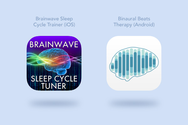 Sleep applications for iPhone and Android
