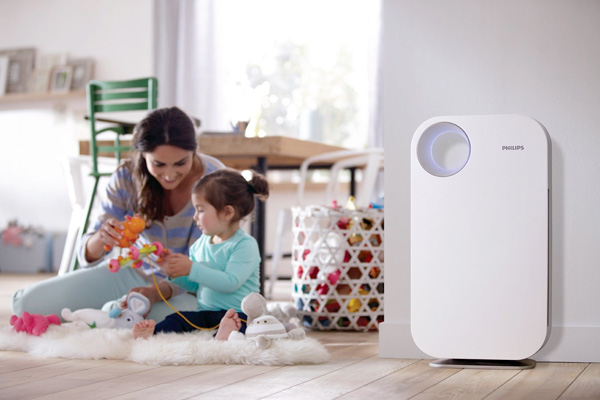 An air purifier can keep indoor air as clean as possible. [Photo: Amazon]