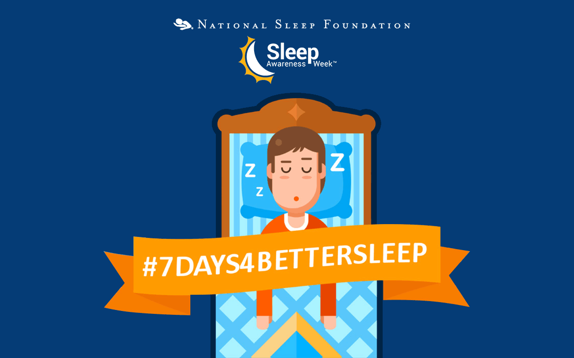 Sleep Awareness Week Challenge: Seven Days to Healthier Slumber