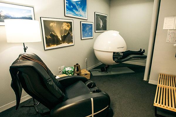 Huffington Post nap room [Photo: The Webby Awards]