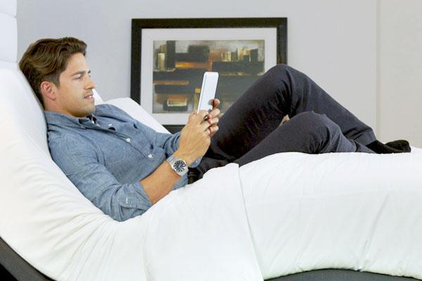 adjustable bed massage