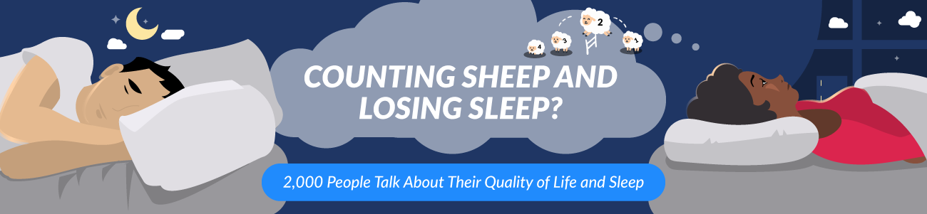Losing sleep while still counting sheep? Learn about sleep quality here.