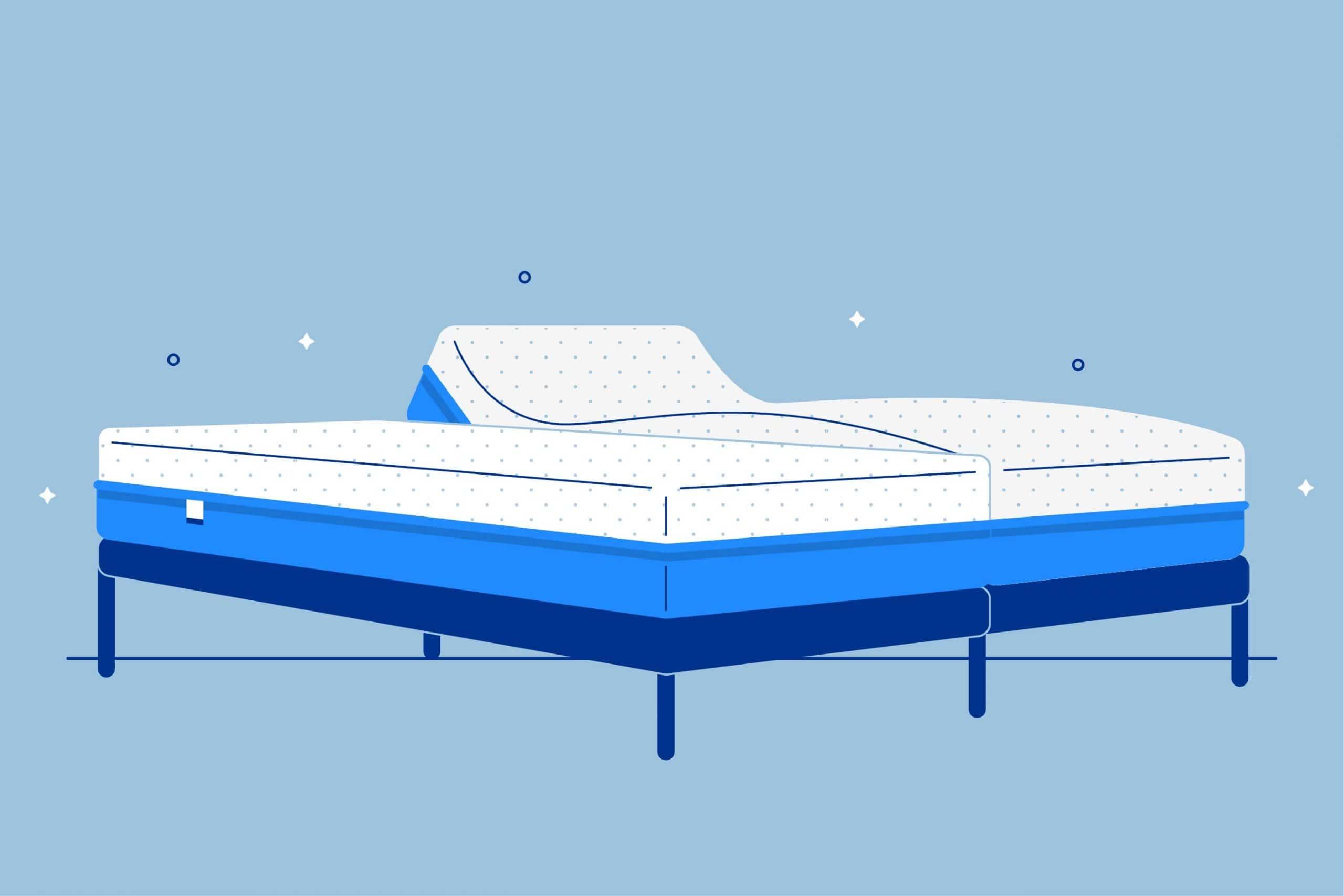 Picture of: Split King Adjustable Beds And Mattresses Amerisleep