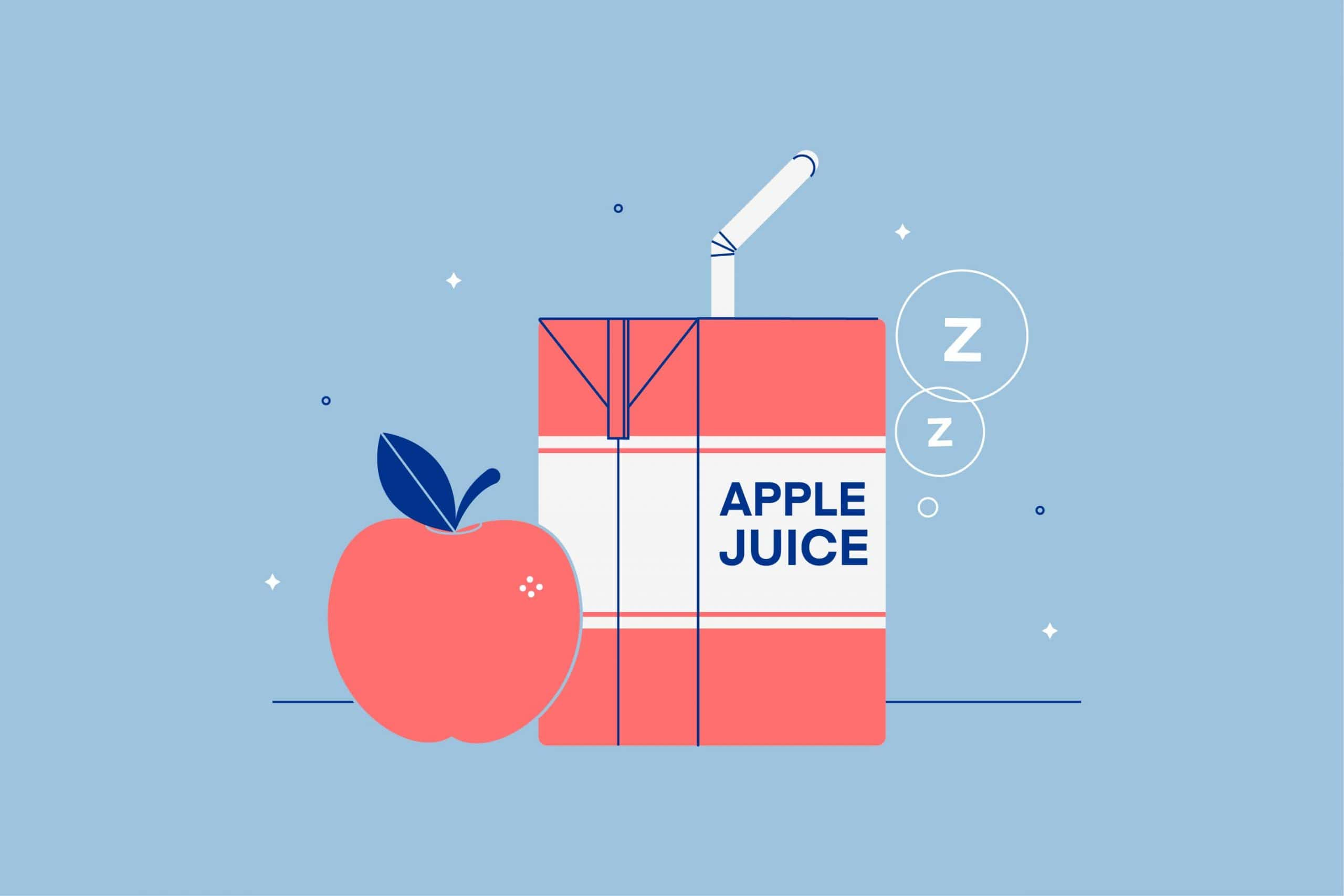 Does Drinking Apple Juice Before Bed Cause Weird Dreams?