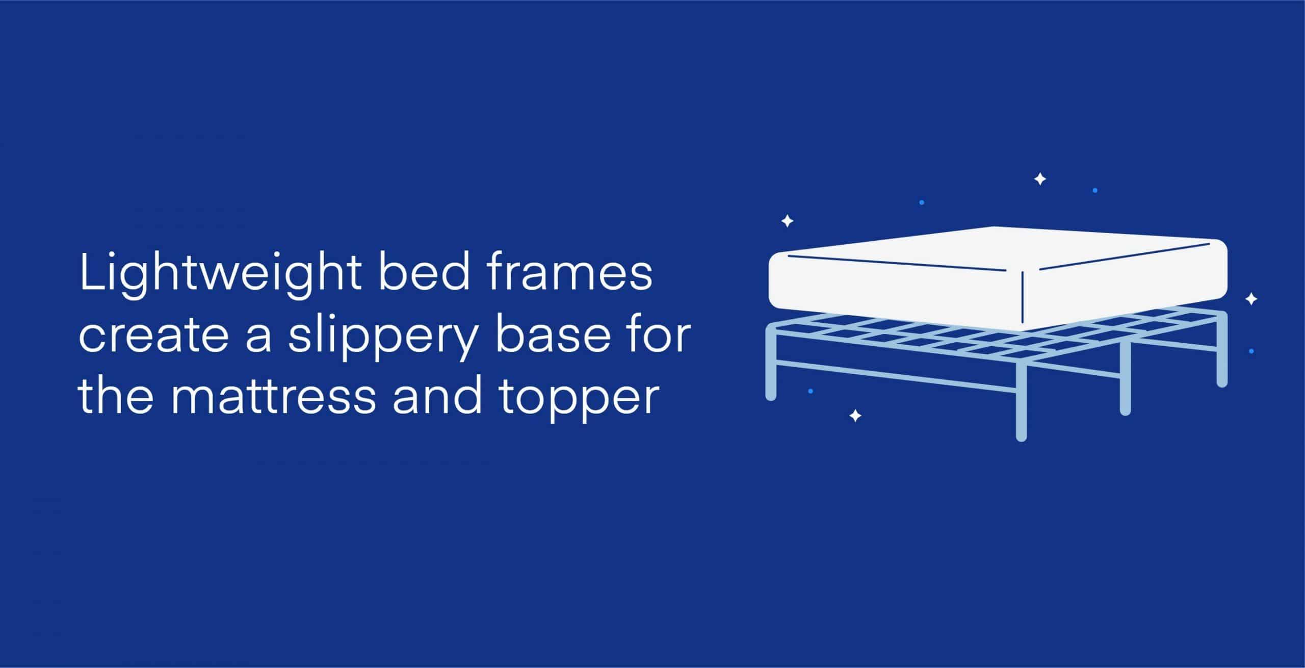 keep mattress topper from sliding