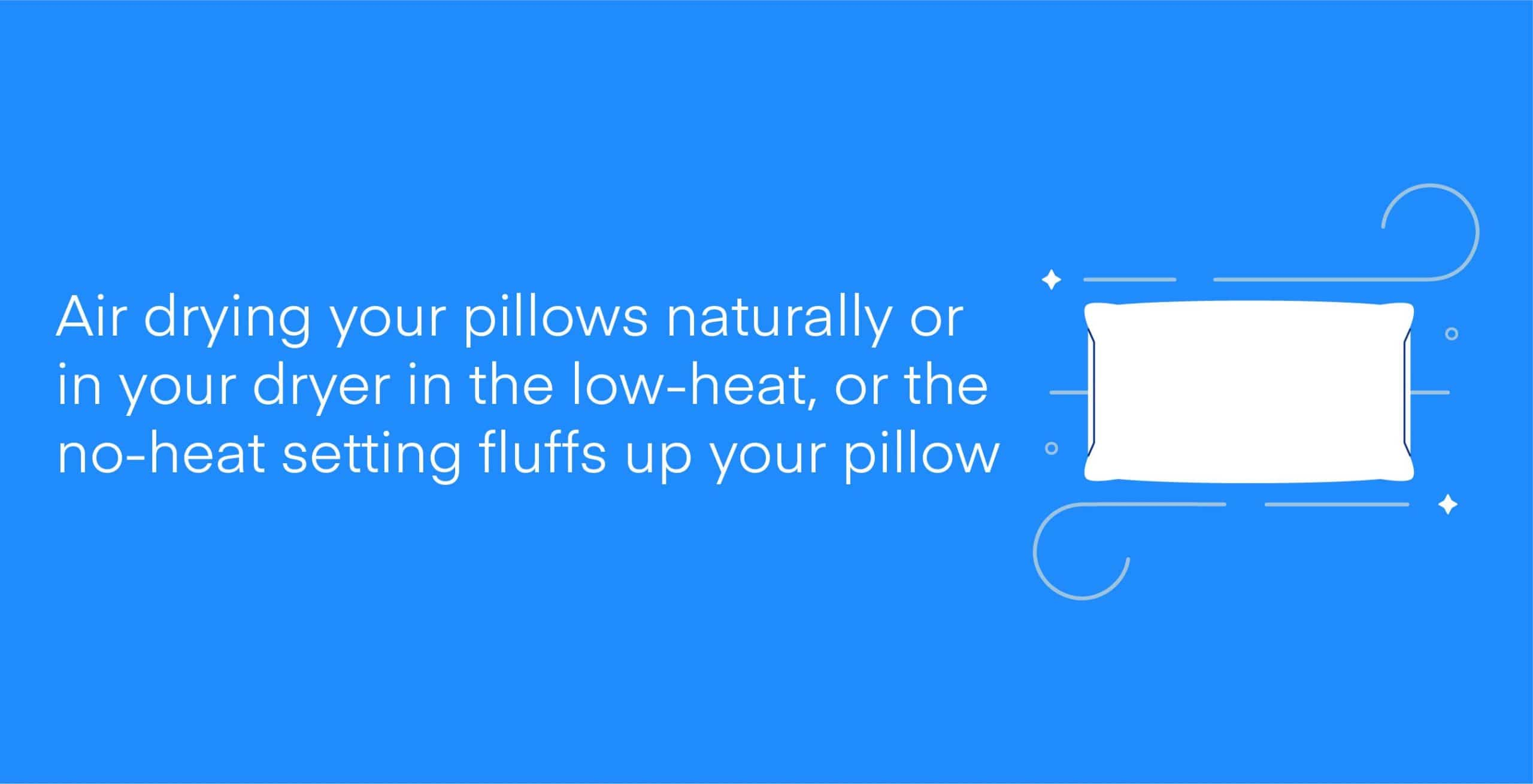 How to Wash and Dry Pillows