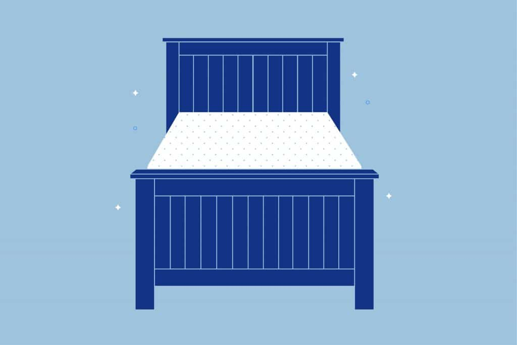 Twin Size Bed Frame Dimensions Amerisleep, How Many Inches Is A Twin Size Bed Frame