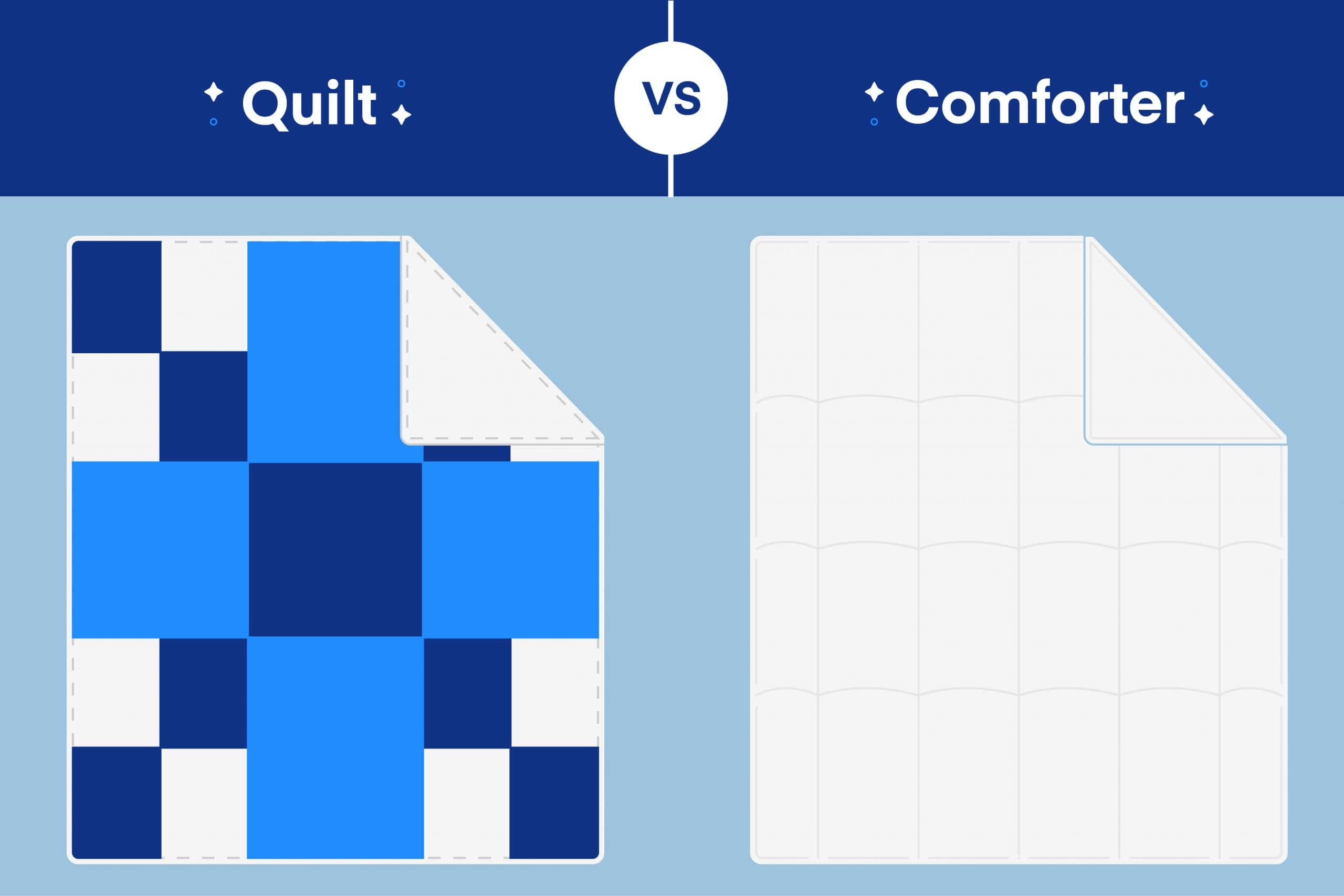 Quilt vs. Comforter: What's the Difference?