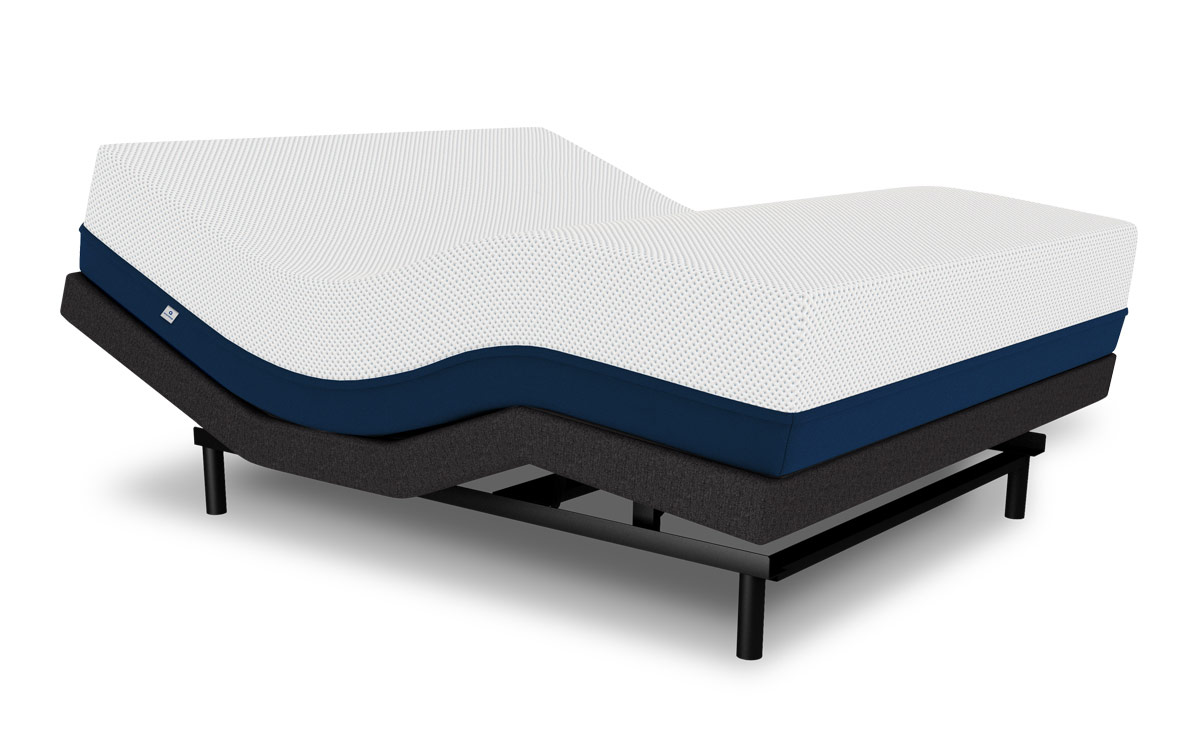 Amerisleep Adjustable Bed paired with the Colonial Bed